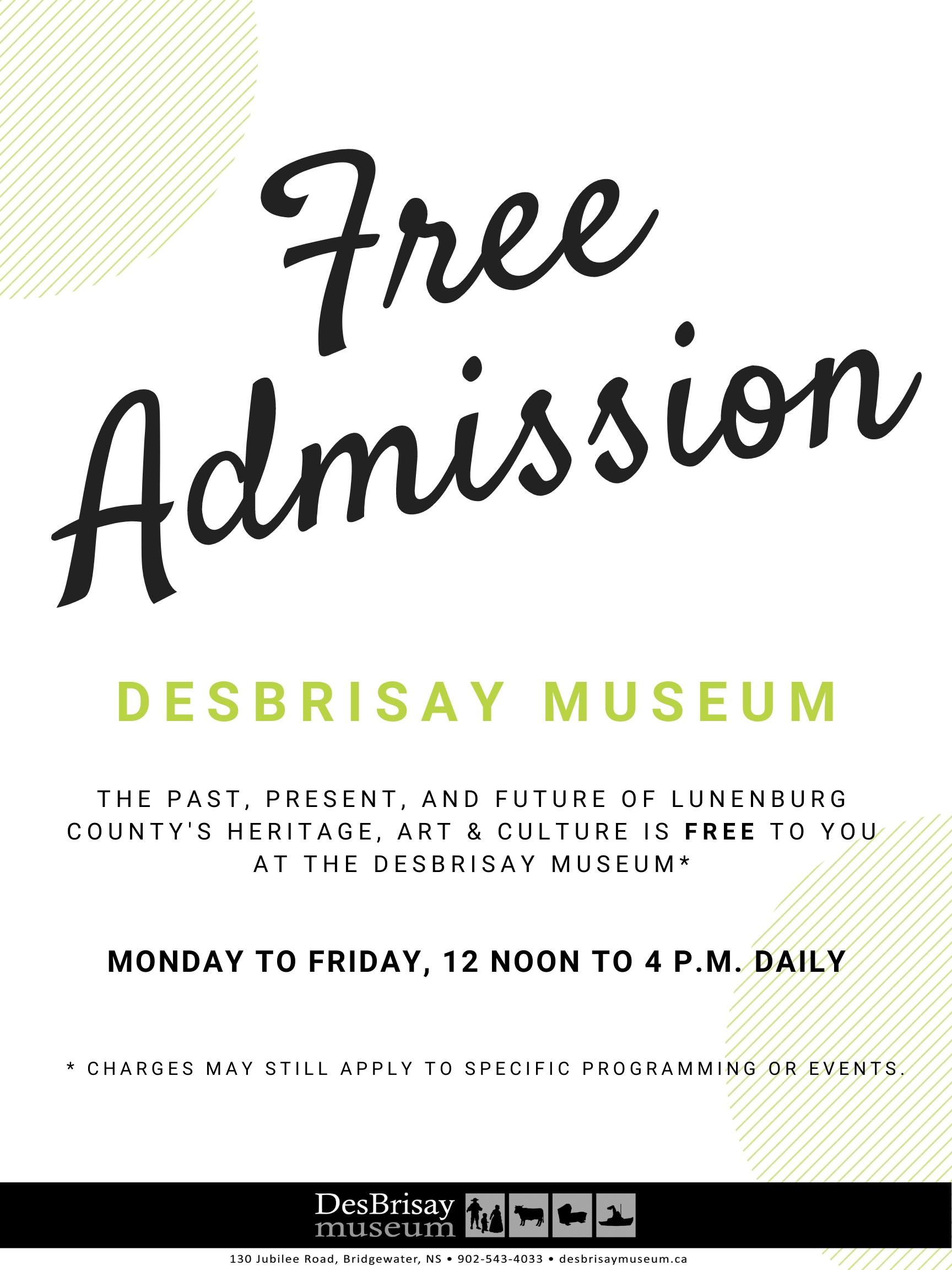 Copy of FREE ADMISSION