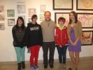 Opening reception for the Bridgewater High Art Fair